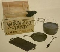 Wenzel Cast Iron Cookware Kit