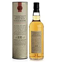 Highland Single Malt Whisky - 12 Years Old - Single Bottle