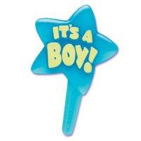Its A Boy Cupcake Picks front-5604