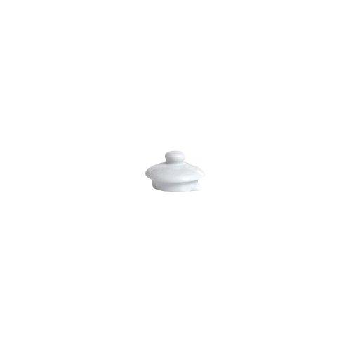 Tuxton Bwt-180L 18 Oz. White Teapot Lid - 12 / Cs