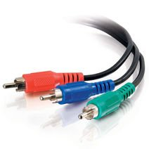 Cables To Go Value Series 40959 Component Video RCA Type Cable (25 Feet, Black)