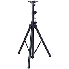Dayton Audio TSS100K 6 ft. Tripod Speaker Stand Black with Free Bag