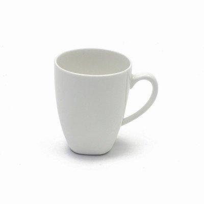 Maxwell And Williams Basics Bullet Mug, 10-Ounce, White