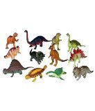 12 piece Large Assorted Dinosaurs - Toys Dinosaur Figures