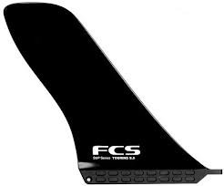 Buy FCS SUP Touring Fin - 9 Black by FCS