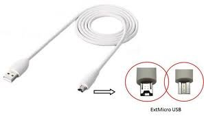 White New Original OEM HTC DC T500 12 Pin ExtMicro USB Data Cable Charger For HTC Tablet, Flyer, Jetstream, Amaze 4G, EVO View 4G, Rezound, Rezound