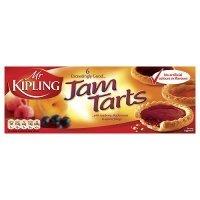 Mr Kipling Jam Tarts : Pack of 6 (Mr Kipling British Fancies compare prices)