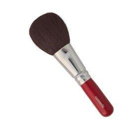匠の化粧筆コスメ堂 熊野筆メイクブラシ ショートタイプ 粗光峰100%ぽっちゃりフェイスブラシ