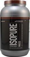 Nature'S Best Isopure Mass Whey Protein Powder Dutch Chocolate -- 3.25 Lbs