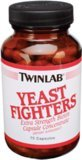 TWINLAB, Yeast Fighters - 75 caps