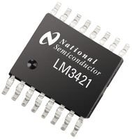 Texas Instruments Lm3421Q1Mh/Nopb Ic, Led Driver, Boost/Buck, Tssop-16 (10 Pieces)