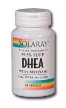 Solaray DHEA-cinq 5mg 60 ch