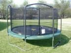 Jumpking 15 ft. ENCLOSURE NETTING WITH STRAPS AND ROPE