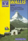 img - for Wallis Hiking Map book / textbook / text book