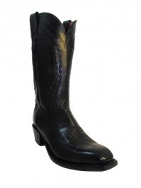 Buy Lucchese 2000 Mens Cowboy Boots TL 6168 Black by Lucchese