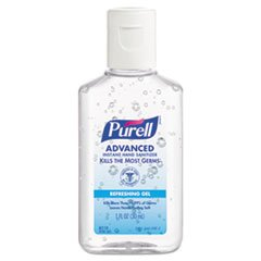 Purell 3900-36-Wrp Advanced Instant Hand Sanitizer, Jelly Wrapped Assorted Colors, Display Bowl (Case Of 36) front-861950