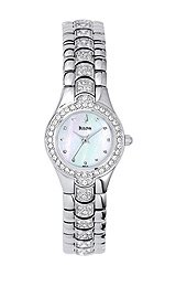Bulova Women's Crystal Bracelet watch #96T14