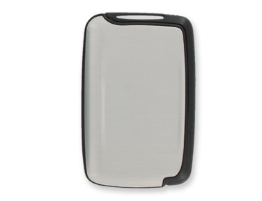Silver Color Fashionable Swivel Scansafe Wallet. Avoid I.D. Theft with a Flip! Keep All Your Credit and I.d. Cards Organized in One Personal Data Protector. Swivel Action Case Holds Multiple Cards in Hard-shell Casing with Sure-snap Latch Closure. Made of