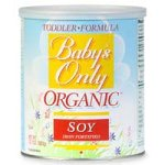Babys Only Soy Organic Toddler Formula, Iron Fortified, 12.7-Ounce Canister
