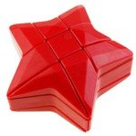 3x3x3 Layers Puzzle Star Magic Cube IQ Game Toys-Red
