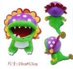 "Super Mario Piranha Baby Plush 9"""