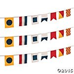 Canvas Nautical Flags Pennant Banners by Fun Express