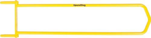 Hound Dog HDP35 Turf Hound Coring Aerator, Yellow