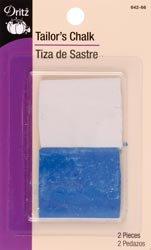 Dritz Tailor's Chalk Refill White 642; 6 Items/Order