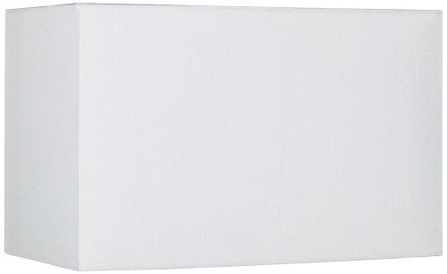 Off White Rectangular Hardback Shade 8/16x8/16x10 (Spider)