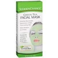 Sudden Change Green Tea Facial Mask, 3.4 oz