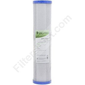 "Pentek EPM-20BB, 20"" Carbon Block Water Filter"