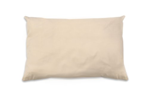 Naturepedic Organic Cotton Pillow with Organic Cotton/Kapok Filling, Standard