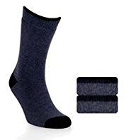 2 Pairs of Ultraheat Short Thermal Socks