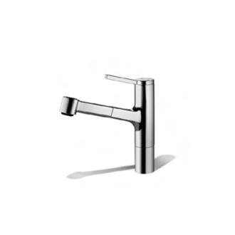 KWC Faucets 10.191.033.000 AVA Pull Out Kitchen Faucet, Chrome