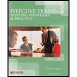 img - for Effective Training Systems, Strategies & Practice book / textbook / text book