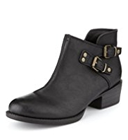 Limited Edition Buckle Ankle Boots