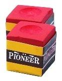 Homegames Pool Snooker Billiard Cue Chalk RED Pioneer 12 Pieces