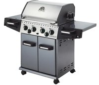 Huntington Rebel Stainless Steel Liquid Propane Gas Grill