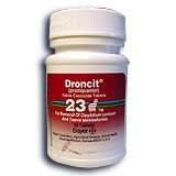 Droncit Dewormer For Cats 23-mg, tablet