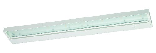 Juno Lighting UPL30-WH Pro-Series LED Under cabinet Fixture, 30-Inch, 8-Lamp (Designer White)