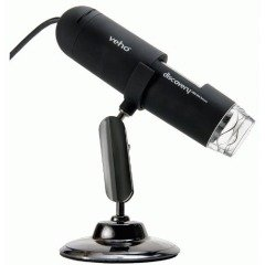 Veho Magnification Discovery Digital USB Microscope with Alloy Stand by Veho