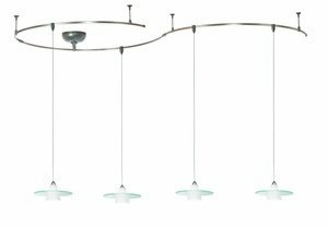 B005U9S83C WAC Lighting LMK517WTBN Obo Solorail Track Lighting Kit, White