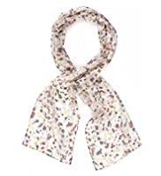 Classic Pure Silk Lightweight Speckled Scarf