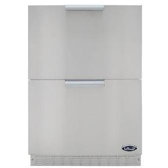 "DCS 24"" Built-In Double Drawer Refrigerator"