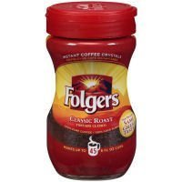 folgers-classic-roast-regular-instant-coffee-3-ounce-plastic-jar-12-per-case-by-folgers