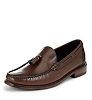 Sartorial Leather Tassel Loafers