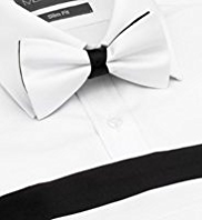 Pure Silk Colour Block Bow Tie & Cummerbund