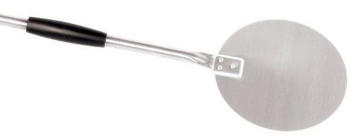 Small Turning Pizza Peel With Black Sliding, Heat Resistant Grip Handle front-379103