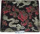 Oboe Reed Case 10-Reed Black w/Gold Dragon Silk