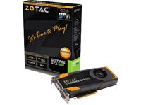 ZOTAC ZT-60101-10P GeForce GTX 680 2GB GDDR5 PCI Express 3.0 HDMI Dual DVI DisplayPort SLI Ready Graphics Card